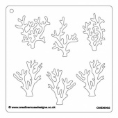 Creative Muse Designs Stencil - Coral