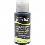 DecoArt Media Antiquing Cream - Carbon Black