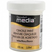 DecoArt Media Crackle Paint - White