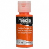 DecoArt Media Fluid Acrylic Paint - Cadmium Orange Hue