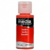 DecoArt Media Fluid Acrylic Paint - Vermillion Hue