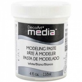 DecoArt Media Modeling Paste - White