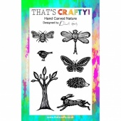 That's Crafty! Clear Stamp Set - Hand Carved Nature