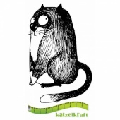 Katzelkraft Unmounted Rubber Stamp - Les Gros Chats 02 - SOLO73