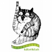 Katzelkraft Unmounted Rubber Stamp - Les Gros Chats 10 - SOLO81