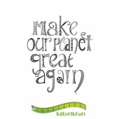Katzelkraft Unmounted Rubber Stamp - Planet Great Again