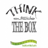 Katzelkraft Unmounted Rubber Stamp - Think Outside the Box