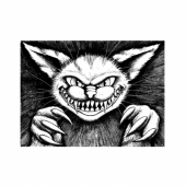 Lost Coast Designs Stamp - Cheshire Cat