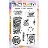 That's Crafty! Clear Stamp Set - Lynne's Scribbled Words - Set 1