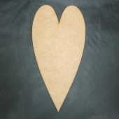That's Crafty! Surfaces MDF Hearts - Pack of 6 - #10
