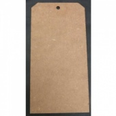 That's Crafty! Surfaces MDF Tags - Pack of 6 - #10