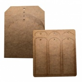 That's Crafty! Surfaces MDF Tags Pack - Pack of 10