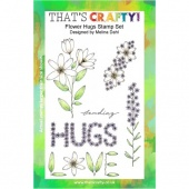 That's Crafty! Clear Stamp Set - Flower Hugs