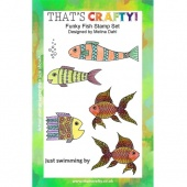 That's Crafty! Clear Stamp Set - Funky Fish