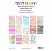 That's Crafty! A4 Paper Pack - Pastels and Rainbow