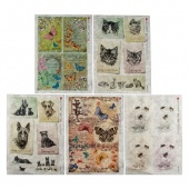 Paper Designs Rice Paper Collection - Animals