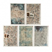 Paper Designs Rice Paper Collection - Grunge