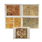 Paper Designs Rice Paper Collection - Old Maps