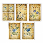 Paper Designs Rice Paper Collection - Vintage Flowers
