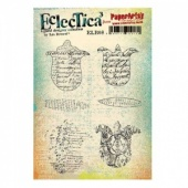 PaperArtsy Cling Mounted Stamp Set - Eclectica³ - Lin Brown - ELB08