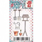 PaperArtsy Cling Mounted JOFY Collection Stamp - Mini JM43