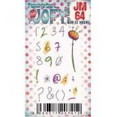 PaperArtsy Cling Mounted JOFY Collection Stamp - Mini JM64