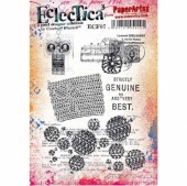 PaperArtsy Cling Mounted Stamp - Eclectica³ - Courtney Franich - ECF07