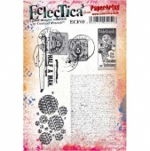 PaperArtsy Cling Mounted Stamp - Eclectica³ - Courtney Franich - ECF09