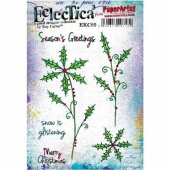 PaperArtsy Cling Mounted Stamp Set - Eclectica³ - Kay Carley - EKC09
