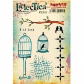 PaperArtsy Cling Mounted Stamp Set - Eclectica³ - Lin Brown - ELB21