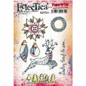 PaperArtsy Cling Mounted Stamp - Eclectica³ - Darcy - EDY16