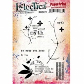 PaperArtsy Cling Mounted Stamp Set - Eclectica³ - Sara Naumann - ESN27