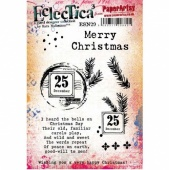 PaperArtsy Cling Mounted Stamp Set - Eclectica³ - Sara Naumann - ESN29