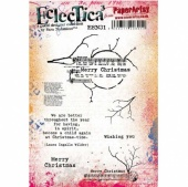 PaperArtsy Cling Mounted Stamp Set - Eclectica³ - Sara Naumann - ESN31