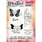 PaperArtsy Cling Mounted Stamp Set - Eclectica³ - Sara Naumann - ESN32