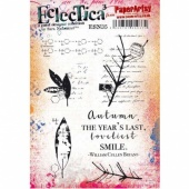 PaperArtsy Cling Mounted Stamp Set - Eclectica³ - Sara Naumann - ESN35