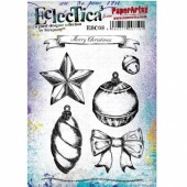 PaperArtsy Cling Mounted Stamp Set - Eclectica³ - Scrapcosy - ESC08