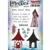 PaperArtsy Cling Mounted Stamp Set - Eclectica³ - Lin Brown - ELB19