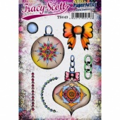 PaperArtsy Cling Mounted Stamp Set - Tracy Scott - TS049