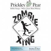 Prickley Pear Cling Mounted Stamp - Zombie Zing