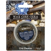 Prima Finnabair Art Alchemy Metallique Wax - Old Denim