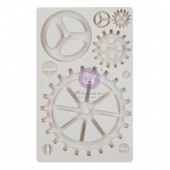 Prima Finnabair Decor Mould - Large Gears
