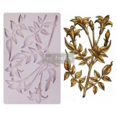 Prima Re-Design Décor Mould - Lily Flowers