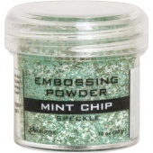 Ranger Embossing Powder - Mint Chip Speckle