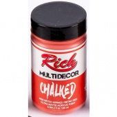 Rich Hobby Chalked Paint - Retro Red