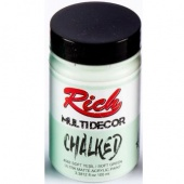 Rich Hobby Chalked Paint - Soft Green