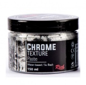 Rich Hobby Chrome Texture Paste - Silver