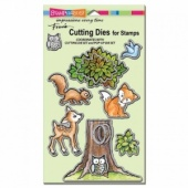 STAMPENDOUS! Die Cut Set - Pop Up Forest