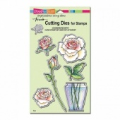 STAMPENDOUS! Die Cut Set - Rose Bouquet
