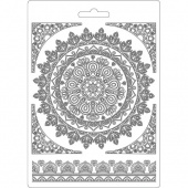Stamperia A5 Soft Mould - Round Lace